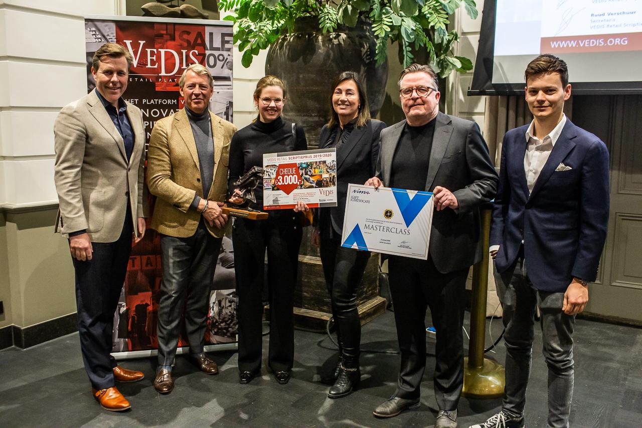 VEDIS Retail Scriptieprijs naar student TU Delft