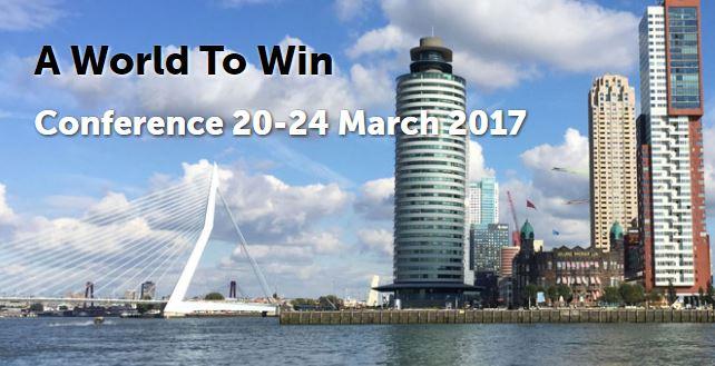 NIMA beveelt aan: A World To Win Conference – Erasmus University Rotterdam