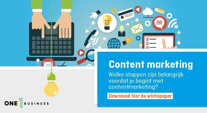 Whitepaper Content Marketing: welke keuzes maak je voor de start?