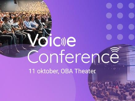 Korting voor NIMA Members die Voice Conference 2018 bezoeken