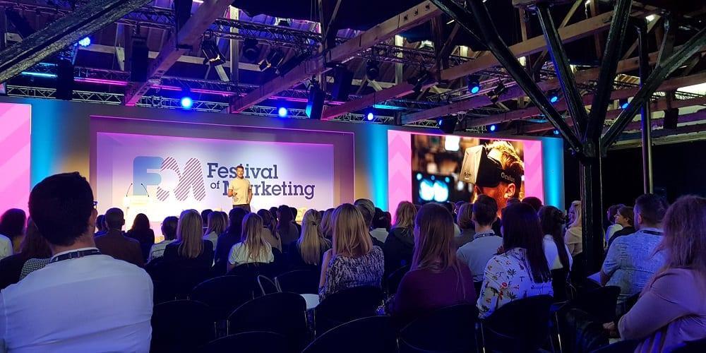 (Verslag Team NIMA) 'Zo'n Festival of Marketing, moet dat op je bucketlist?'