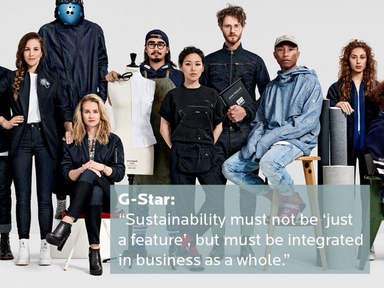 Dit doet G-Star op het gebied van duurzame bedrijfsvoering