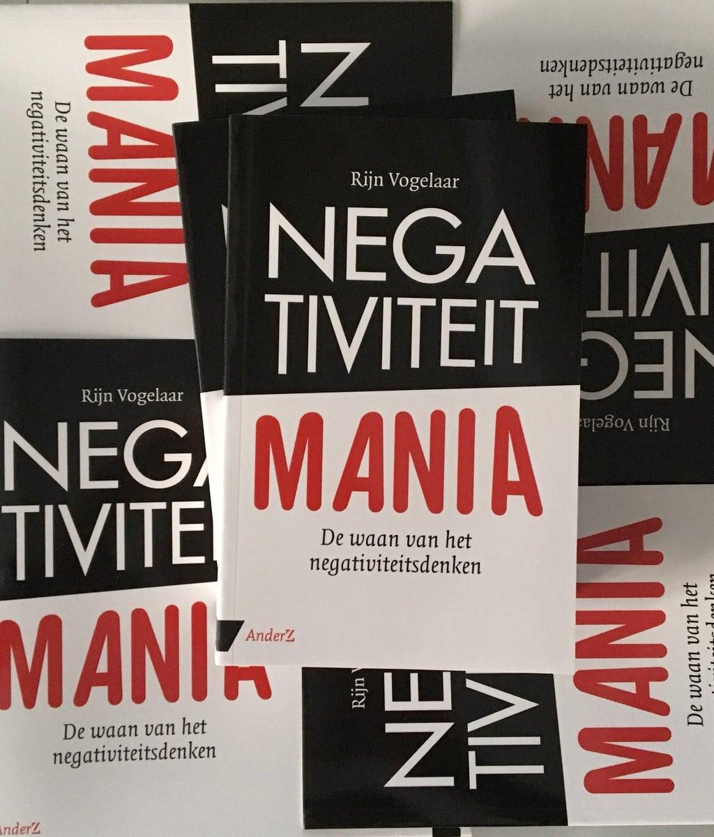(Recensie) Negativiteit mania – De waan van het negativiteitsdenken