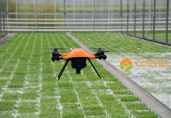 NIMA-gastcollege bij Inholland Business Studies: Samen blokken op de agri-drone