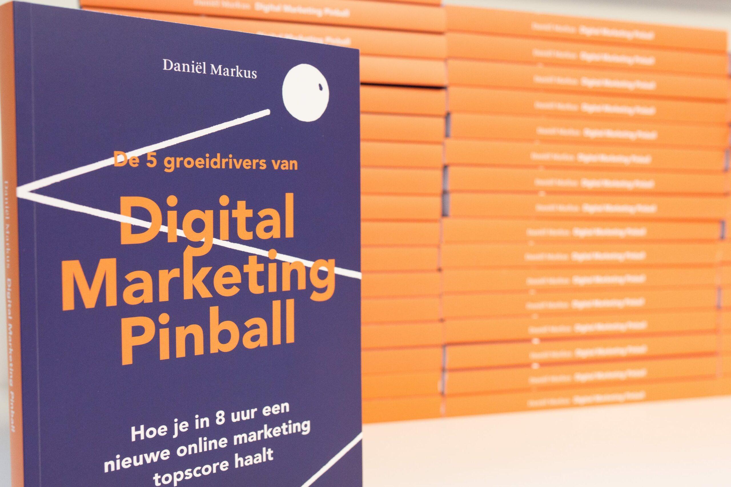 Boekrecensie Registermarketeers: 'Digital Marketing Pinball'