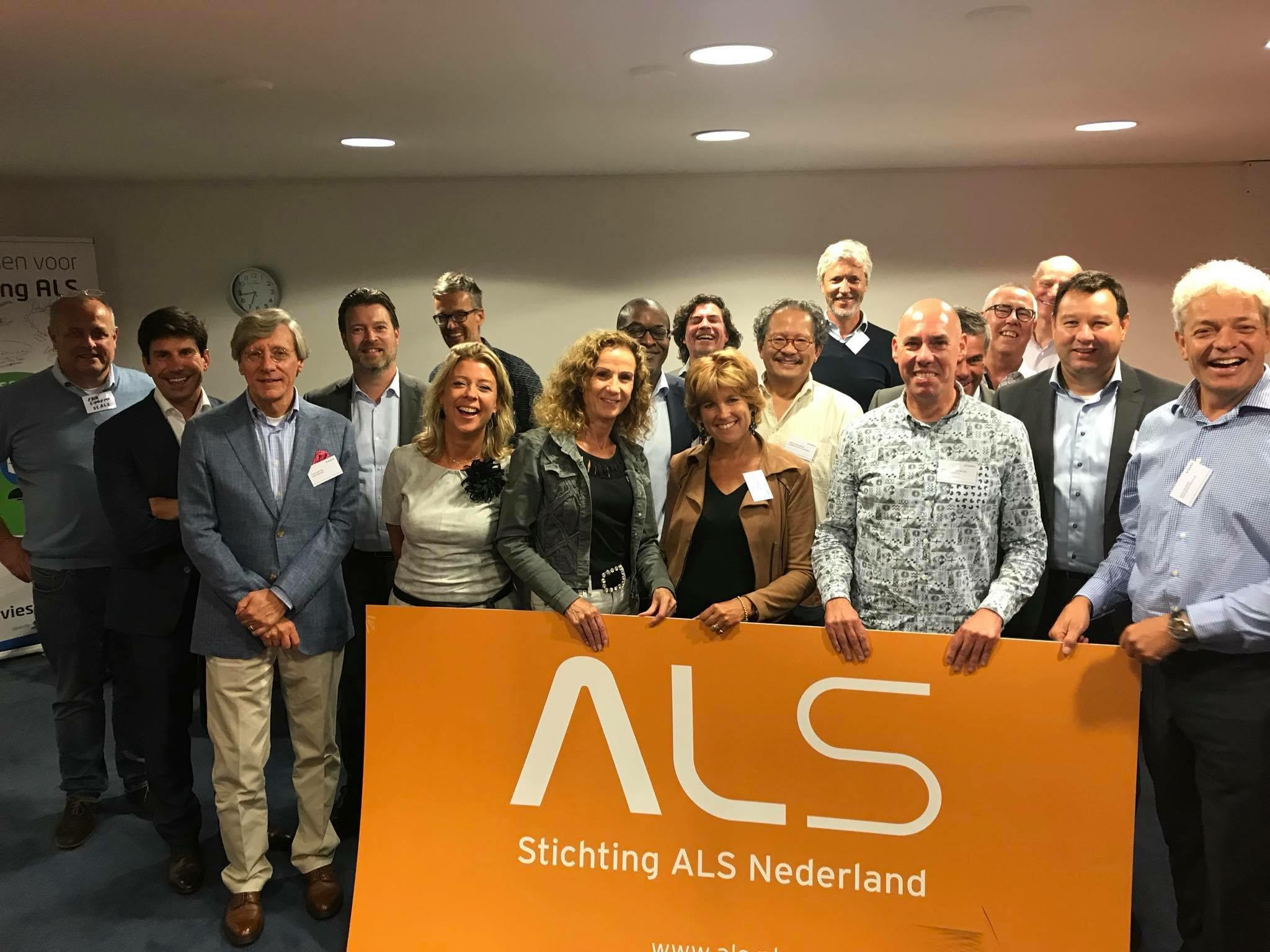 Register Marketeers op bezoek voor intervisie Stichting ALS