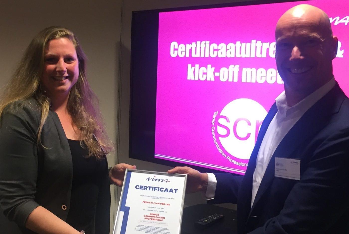Twintig Senior Communication Professionals zetten 'SCP' op de kaart