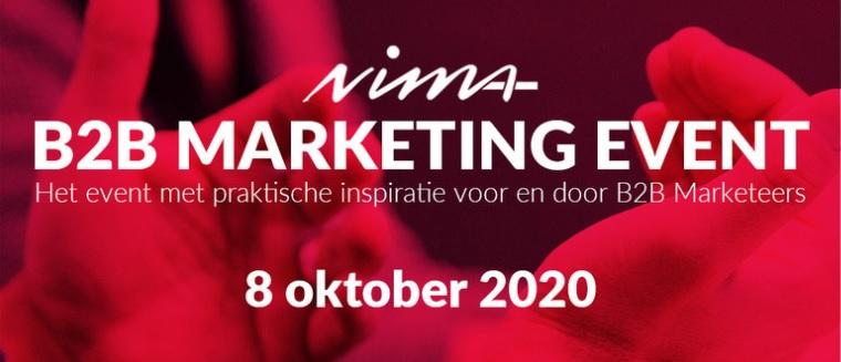 NIMA B2B Marketing Event trekt volle online zalen