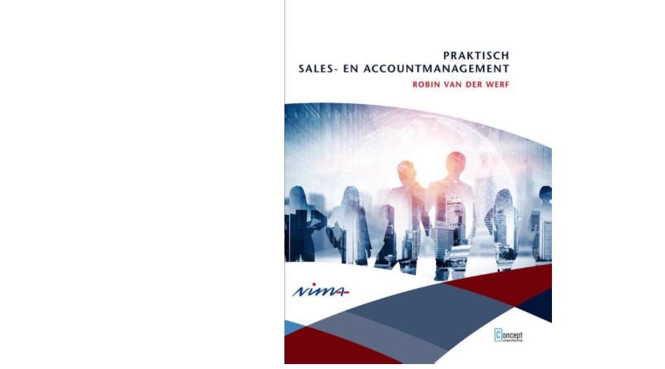 Geactualiseerde herdruk voor standaardwerk NIMA B Sales