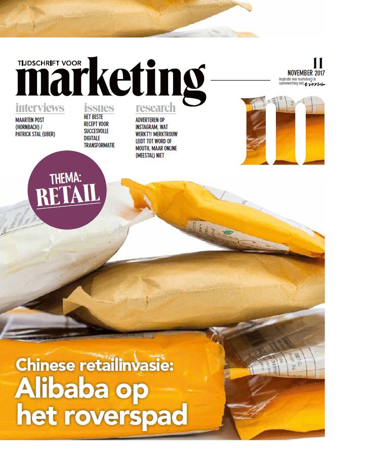 Column The Y in Tijdschrift voor Marketing 2017