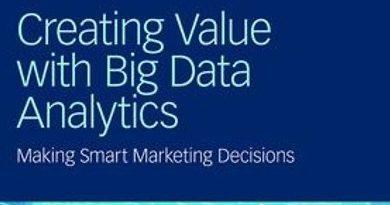 Creating Value with Big Data Analytics