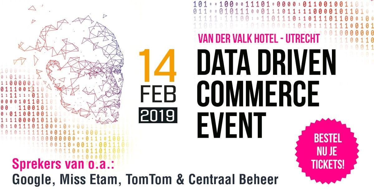 NIMA Members met 100 euro korting naar Data Driven Commerce