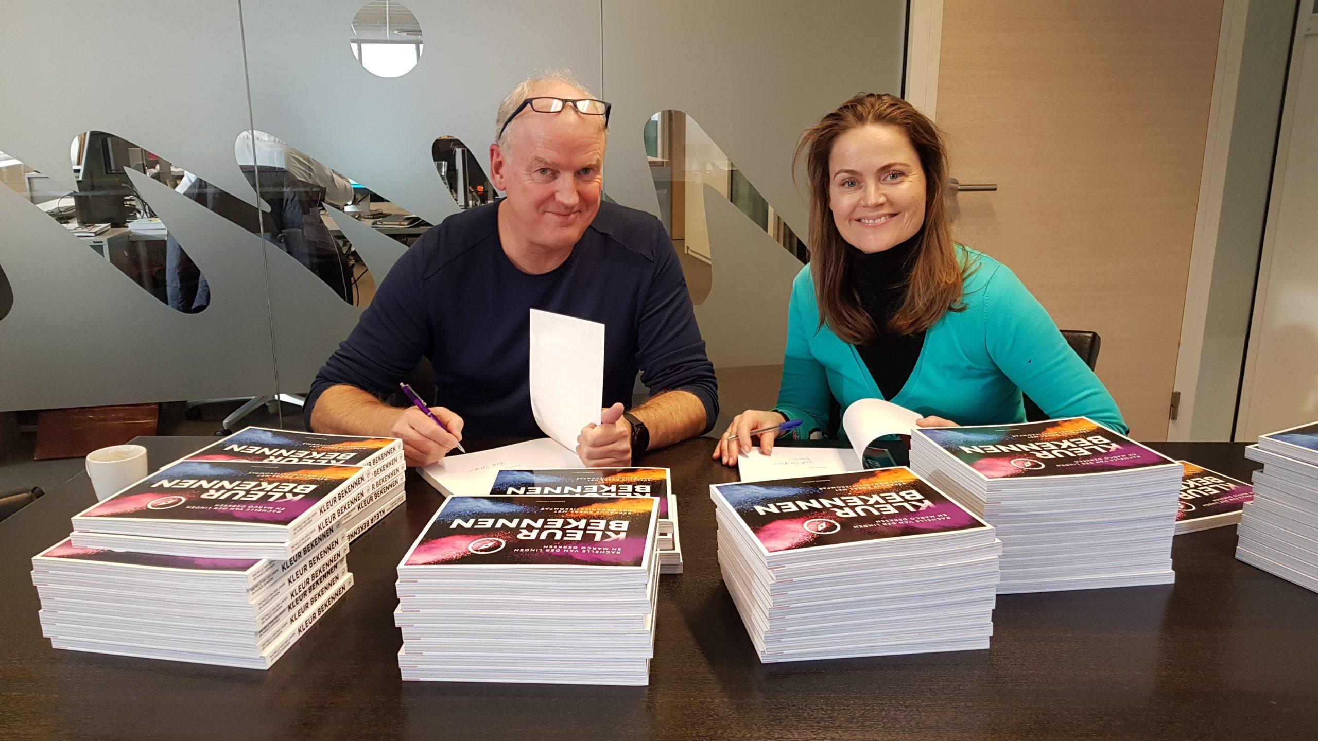 Rachelle van der Linden en Marco Derksen tekenen NIMA Book Q1-20