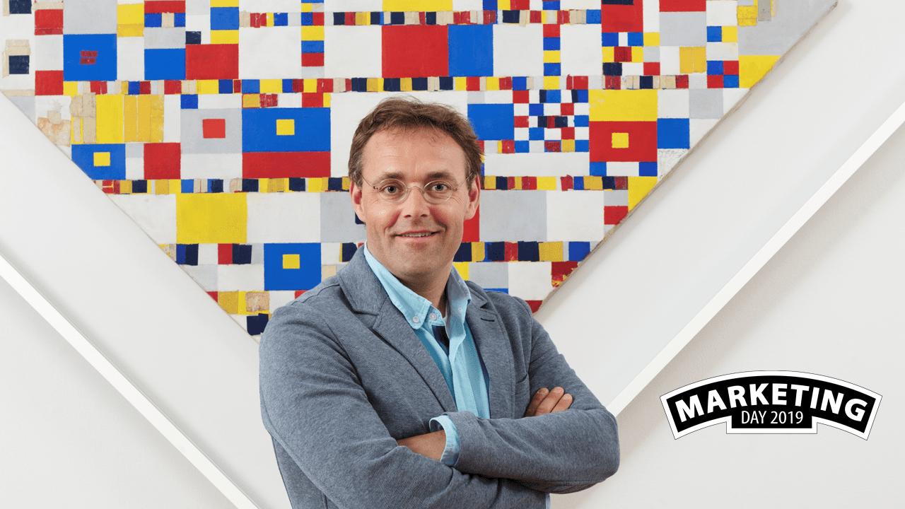 NIMA Marketing Day – Gijs Meijer – Gemeentemuseum Den Haag 'Alsof je Ronaldo, Messi en Cruijff in één team hebt'