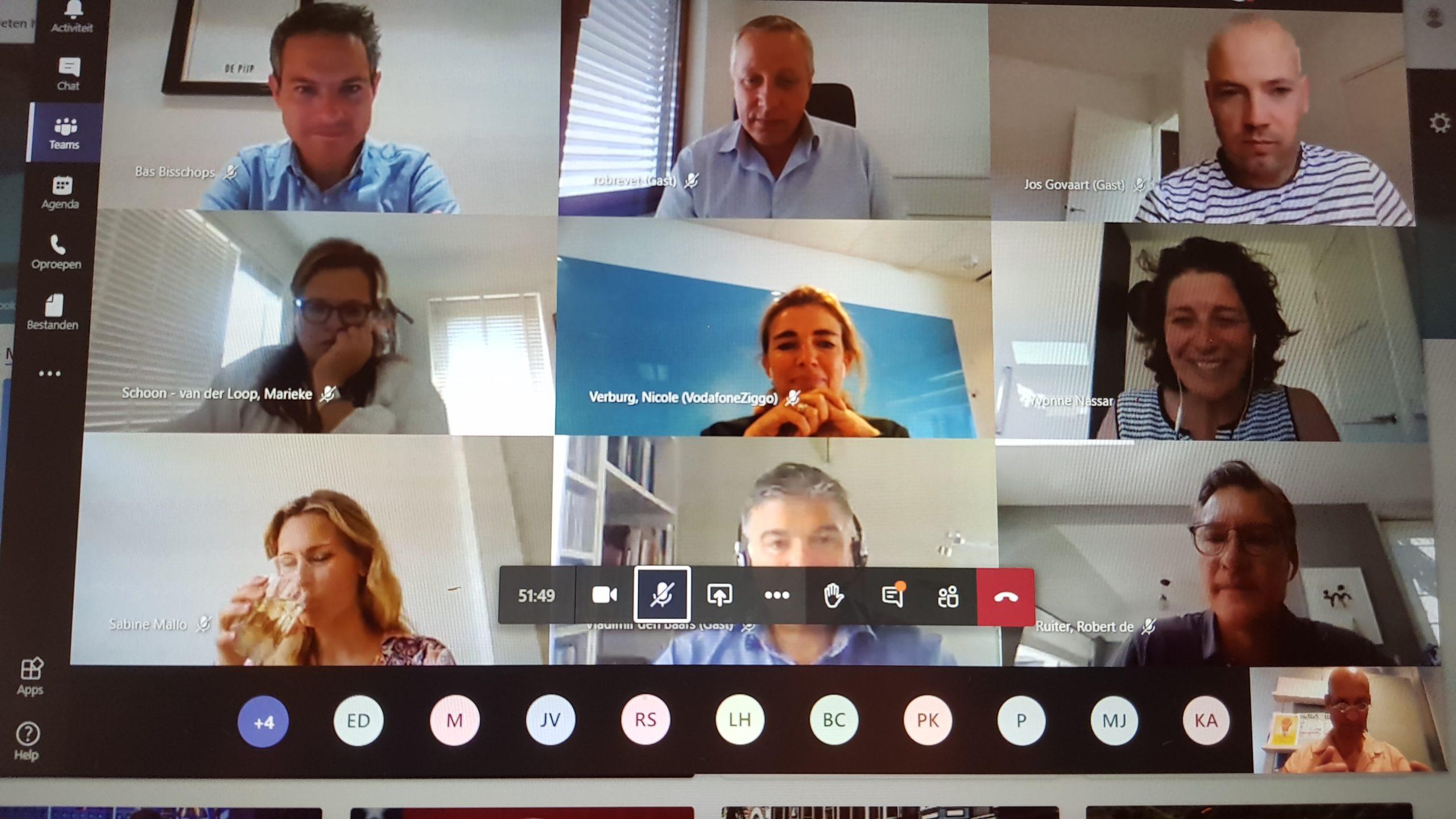 Top van Top Marketing Club in gesprek met auteurs Jaarboek