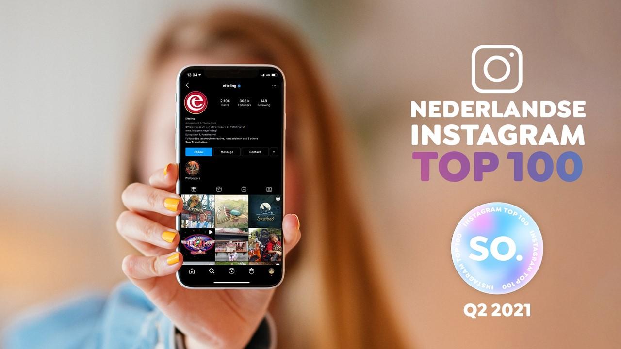 Efteling stoot Bol.com van troon in Instagram Top 100